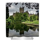 Wells Pond Shower Curtain