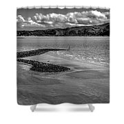Welsh Coastal View From The Great Orme  Shower Curtain