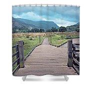 Welsh Landscape Shower Curtain