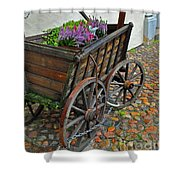 Weltladen Cart Shower Curtain