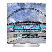Wembley Stadium Wembley Way Shower Curtain