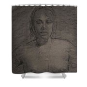 Wendy As Oracle  Shower Curtain