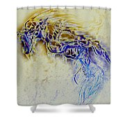 Werewolf  Shower Curtain