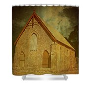 Wesley Church, Greenough, Western Australia Shower Curtain