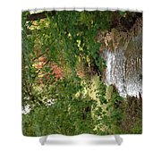 West Branch Of The Rifle River Shower Curtain