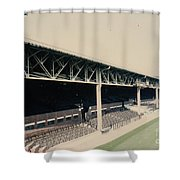 West Bromwich Albion - The Hawthorns - Halfords Lane West Stand 1 - 1970s Shower Curtain