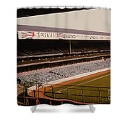 West Bromwich Albion - The Hawthorns - Rainbow Stand 1 - 1980s Shower Curtain