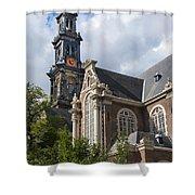 West Church Westerkerk Shower Curtain