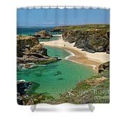 West Coast Of Portugal Shower Curtain