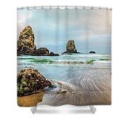 West Coast Usa Wonder Shower Curtain