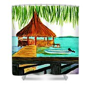 West End Roatan Shower Curtain