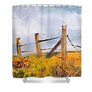 West Forty Shower Curtain