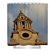 West Front Of St. Paul's Cathedral, London Shower Curtain