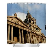 West Front Of St.paul's Cathedral, London Shower Curtain
