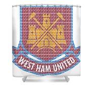 West Ham Shower Curtain