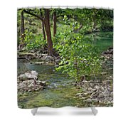 West Sister Creek Shower Curtain