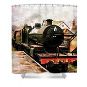 West Somerset Railways Train. Shower Curtain