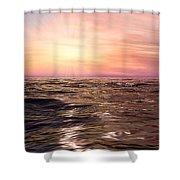 West Sunset Romantic Shower Curtain
