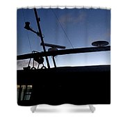 West To Sommerset Shower Curtain