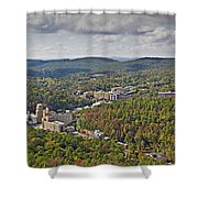 West View  Shower Curtain