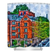 West Village By The High Line Shower Curtain