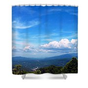 West Virginia Calling Me Home Shower Curtain
