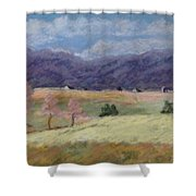 West Virginia Landscape             Shower Curtain