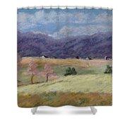 West Virginia Landscape             Shower Curtain