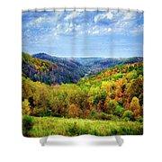 West Virginia Shower Curtain