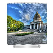 West Virginia State Capitol Building No. 2 Shower Curtain