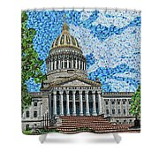 West Virginia State Capitol Shower Curtain