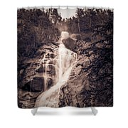 West Waterfall Shower Curtain