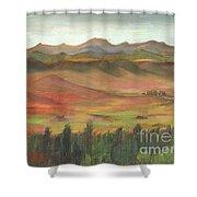 Westcliffe Valley I Shower Curtain