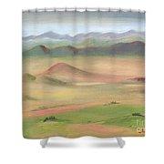Westcliffe Valley II Shower Curtain