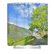 Westeraas Farm Shower Curtain