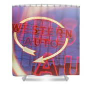 Western Auto Dream Shower Curtain