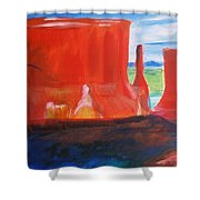 Western Canyon Shower Curtain