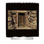 Western Door Shower Curtain
