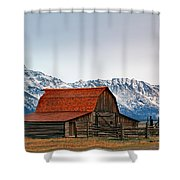 Western Living 2 Shower Curtain
