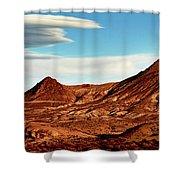 Western Mountain Scene Shower Curtain