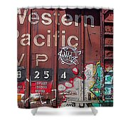 Western Pacific Shower Curtain
