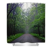 Western Pennsylvania - Oakland Township  Shower Curtain