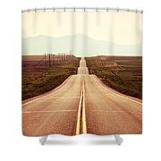 Western Road Shower Curtain