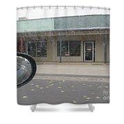 Western Storefront Shower Curtain