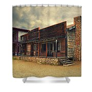 Western Town - Paramount Ranch Shower Curtain