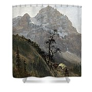 Western Trail Shower Curtain