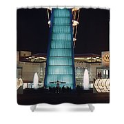 Westinghouse Pavilion At Night Shower Curtain
