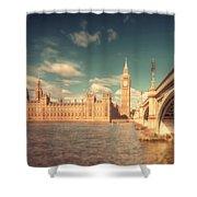 Westminster Big Ben Shower Curtain
