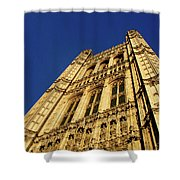 Westminster Palace, London Shower Curtain