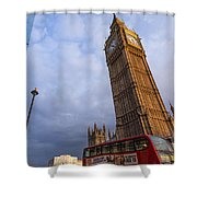 Westminster Station Shower Curtain